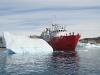Thor Supplier leaving Ilulissat